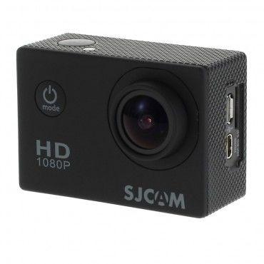 Vodotěsná FULL HD sportovní kamera SJCAM SJ4000 - černá
