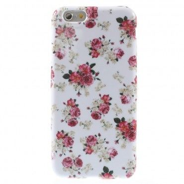 "Kryt TPU gel ""Lovely Roses 3"" pro iPhone 6 / 6S"