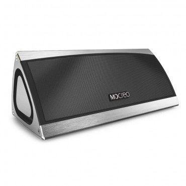 """Prémiový Bluetooth reproduktor Mocreo """"Mosound Bass"""" - stříbrný"""