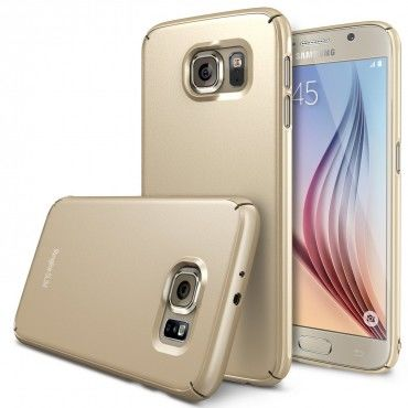"Kryt Ringke ""Slim"" pro Samsung Galaxy S6 - royal gold"
