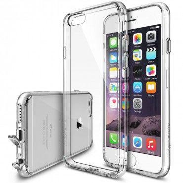 """Obal Ringke """"Fusion"""" pro iPhone 6 / 6S - křišťálově jasný"""