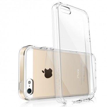 """Obal Ringke """"Fusion"""" pro iPhone SE / 5 / 5S - křišťálově jasný"""
