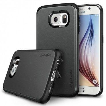 "Kryt Ringke ""Max"" pro Samsung Galaxy S6 - gunmetal"