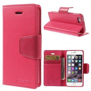 Elegantní kryt Goospery Sonata pro iPhone SE / 5 / 5S - purpurový