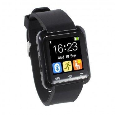 """Chytré Bluetooth hodinky """"U-Tech"""" pro Android zařízení - černé"""