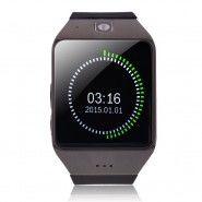 """Chytré bluetooth a NCF hodinky """"U-UW1"""" pro zařízení android - černá"""