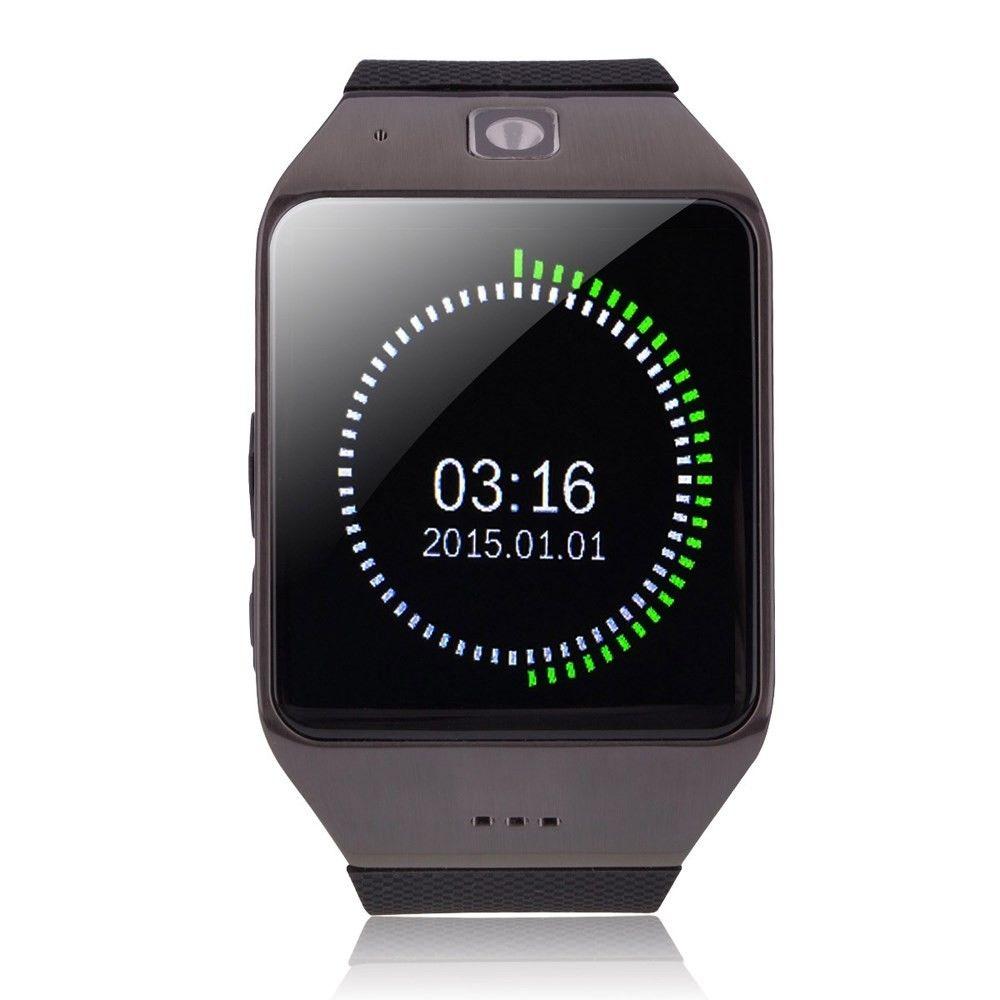 """Chytré Bluetooth a NFC hodinky """"U-UW1"""" pro Android zařízení - černé"""