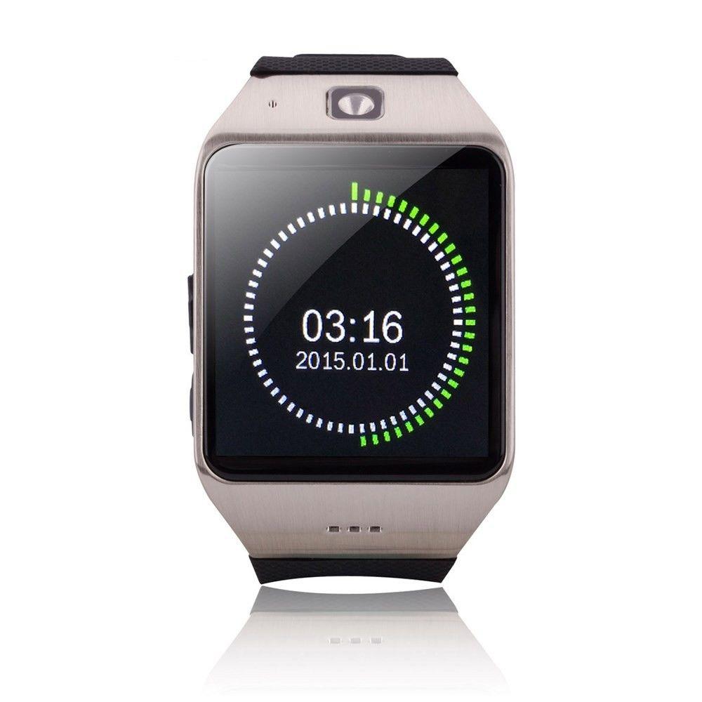 """Chytré Bluetooth a NFC hodinky """"U-UW1"""" pro Android zařízení - stříbrné"""
