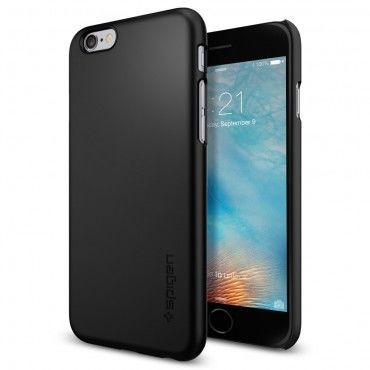"""Obal Spigen SGP """"Thin Fit"""" pro iPhone 6 / 6S - černý"""