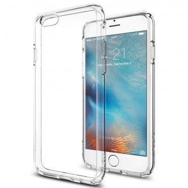 """Obal Spigen SGP """"Ultra Hybrid"""" pro iPhone 6 / 6S - křišťálová růžová"""