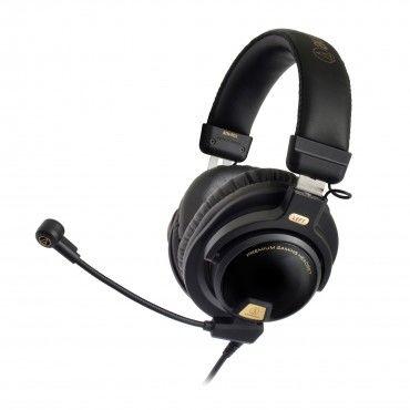 Profesionální Hi-Fi herní sluchátka Audio-Technica ATH-PG1 - černá