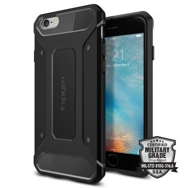 "Kryt Spigen SGP ""Rugged Capsule"" pro iPhone 6 / 6S - black"