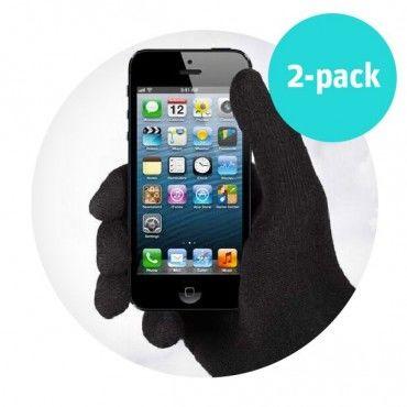 Ox rukavice na dotykovou obrazovku 2 balení - zimní výprodej