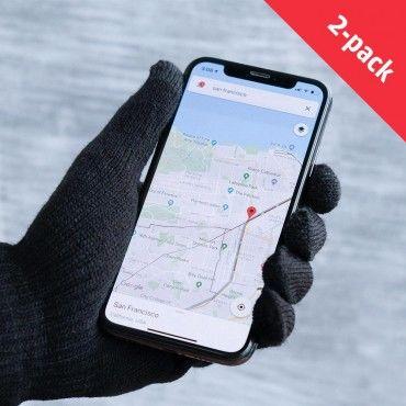 Dotykové rukavice iGlove sada se 2 páry - Zimní výprodej