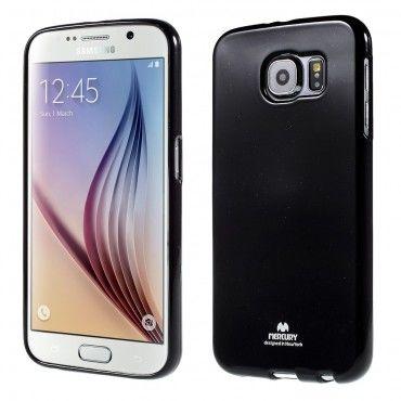 Kryt TPU gel Goospery Jelly Case pro Samsung Galaxy S6 - černé