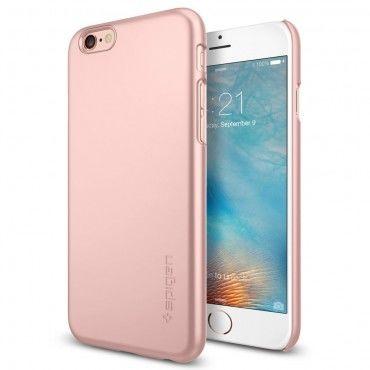 """Obal Spigen SGP """"Thin Fit"""" pro iPhone 6 / 6S - růžově zlatý"""