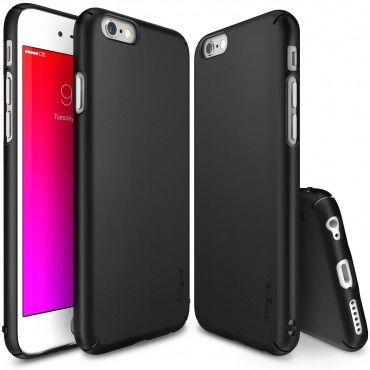"""Obal Ringke """"Slim"""" pro iPhone 6 / 6S - černý"""
