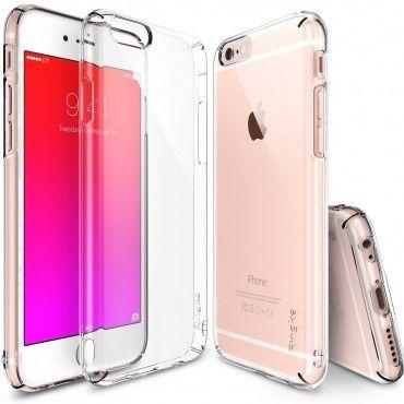 """Kryt Ringke """"Slim"""" pro iPhone 6 / 6S - crystal"""