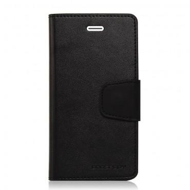 Elegantní pouzdro Goospery Sonata pro iPhone 6 / 6S - černé