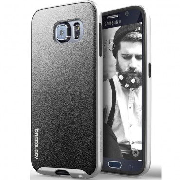 Kryt Caseology Envoy Series pro Samsung Galaxy S6 - charcoal black