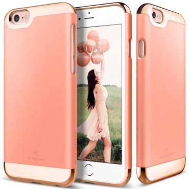 Kryt Caseology Savoy Series pro iPhone 6 / 6S - pink