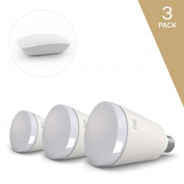 Luc Evolver Pack - 3 x chytrá žárovka a bridge