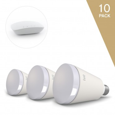 Luc Master Pack - 10 x chytrá žárovka a bridge