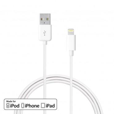 Premium Era: MFI certifikovaný kabel Lightning pro iPhone XS Max / iPhone XS Max / iPhone XS Max / iPhone XS Max / 8 / 8 Plus / 7 / 7 Plus / 6S / 6S Plus / 6 / 6 Plus / SE / 5 / 5S / iPad Pro / iPhone XS Max / iPad Mini
