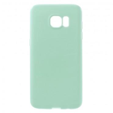 Kryt TPU gel pro Samsung Galaxy S7 Edge - mint