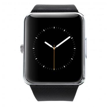 """Chytré Bluetooth a NFC hodinky """"GT-X0"""" pro Android zařízení - stříbrné"""