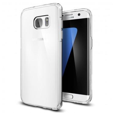 "Kryt Spigen ""Ultra Hybrid"" pro Samsung Galaxy S7 Edge - crystal clear"