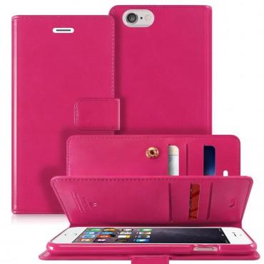 Kryt Goospery Mansoor Diary pro iPhone 6 / 6S - purpurový