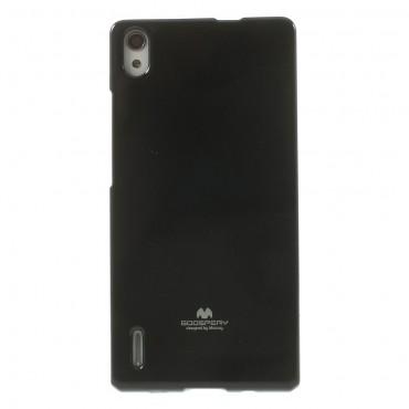Kryt TPU gel Goospery Jelly Case pro Huawei P8 Lite - černé