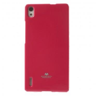 Kryt TPU gel Goospery Jelly Case pro Huawei P8 Lite - magenta
