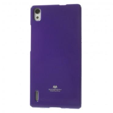 Kryt TPU gel Goospery Jelly Case pro Huawei P8 Lite - fialový