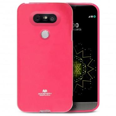 TPU gelový obal Goospery Jelly Case LG G5 - purpurový