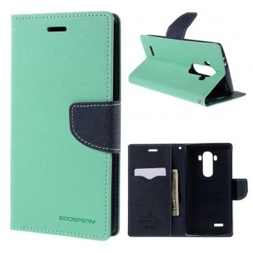 Pouzdro Goospery Fancy Diary pro LG G5 - světle modrý