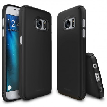 "Obal Ringke ""Slim"" pro Samsung Galaxy S7 - tmavě černý"