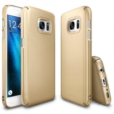 "Kryt Ringke ""Slim"" pro Samsung Galaxy S7 - royal gold"