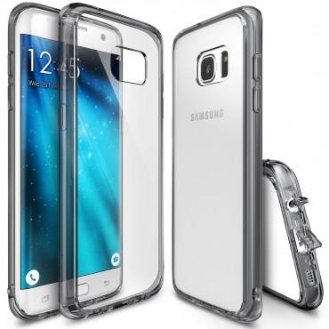 """Obal Ringke """"Fusion"""" pro Samsung Galaxy S7 - kouřově černý"""