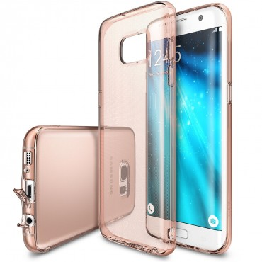 "Kryt Ringke ""Air"" pro Samsung Galaxy S7 - rose gold crystal"