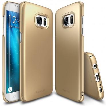 "Kryt Ringke ""Slim"" pro Samsung Galaxy S7 Edge - royal gold"
