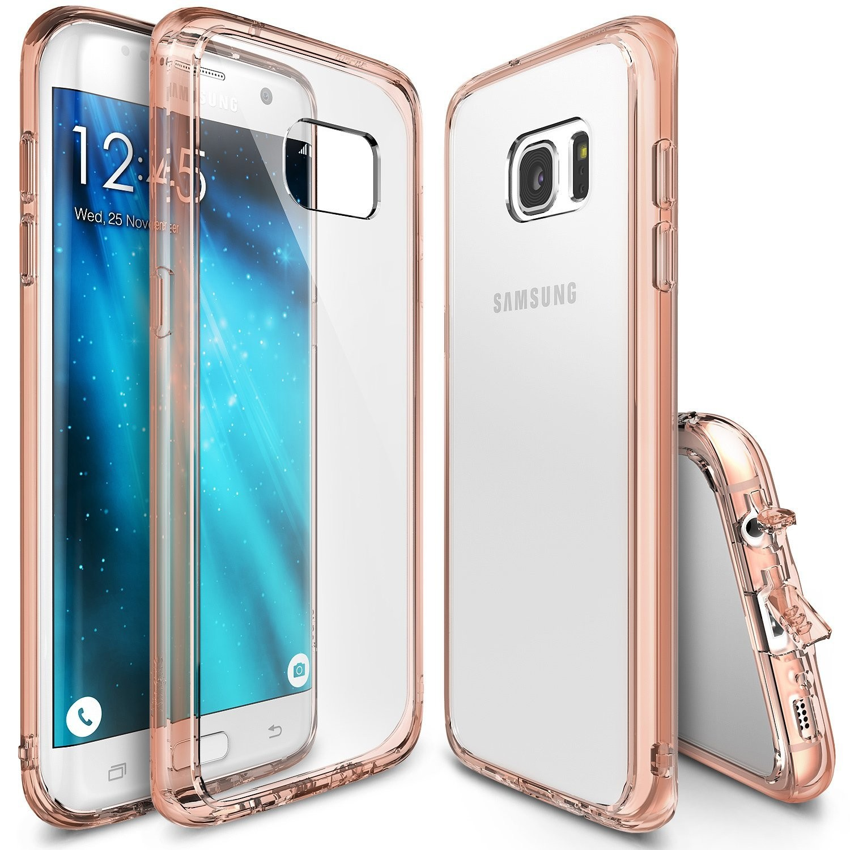 "Kryt Ringke ""Fusion"" pro Samsung Galaxy S7 Edge - rose gold"