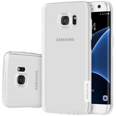 """Prémiový tenký obal """"Nature"""" Samsung Galaxy S7 Edge - průhledný"""