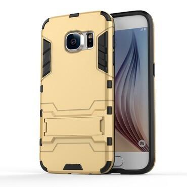 """Robustní kryt """"Impact X"""" pro Samsung Galaxy S7 - zlatý"""