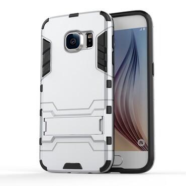 """Robustní obal """"Impact X"""" pro Samsung Galaxy S7 - stříbrný"""