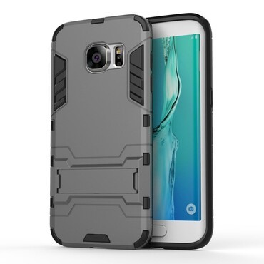 "Robustní kryt ""Impact X"" pro Samsung Galaxy S7 Edge - šedý"