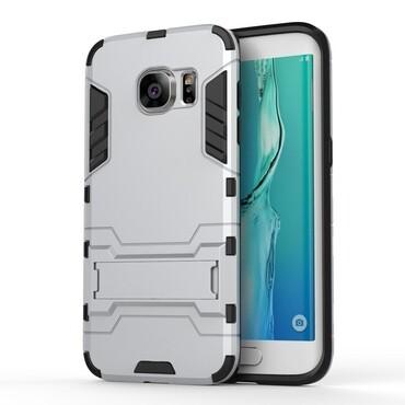 "Robustní kryt ""Impact X"" pro Samsung Galaxy S7 Edge - stříbrné barvy"