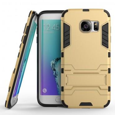 "Robustní obal ""Impact X"" pro Samsung Galaxy S7 Edge - zlaté barvy"