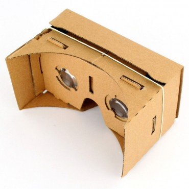 3D brýle pro virtuální realitu z kartonu